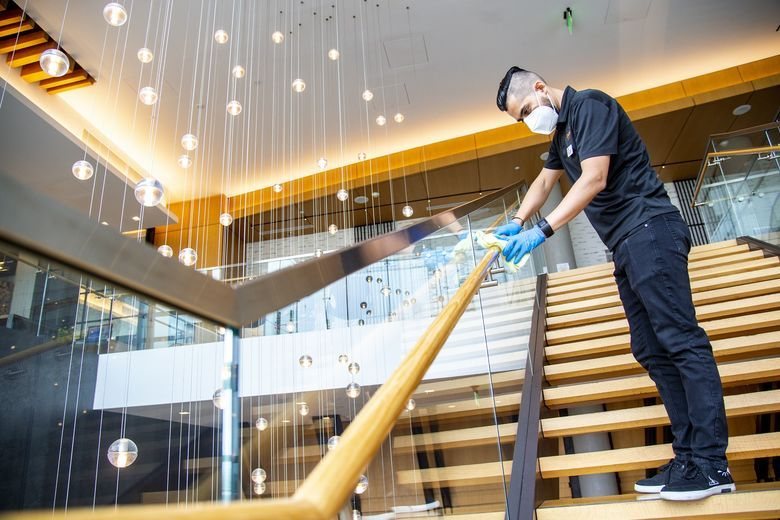 How to maintain cleaning standards at public spots