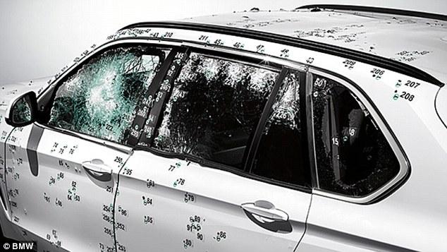 The utilization of bulletproof glass
